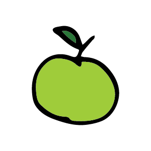 icon apples