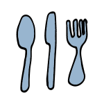 icon forks